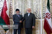 تصاویر | دیدار وزیر امورخارجه عمان با محمدجواد ظریف