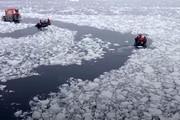 فیلم | یخچالهای طبیعی ۱۰۰ برابر سریعتر از پیشبینیها آب میشوند