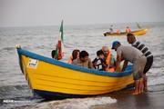تصاویر | تفریح مسافران تابستانی در مرز ایران و آذربایجان