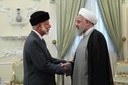 تصاویر   وزیر خارجه عمان به دیدار رئیسجمهور رفت