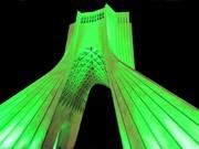 برج آزادی یکشنبه ۶ مرداد سبز میشود