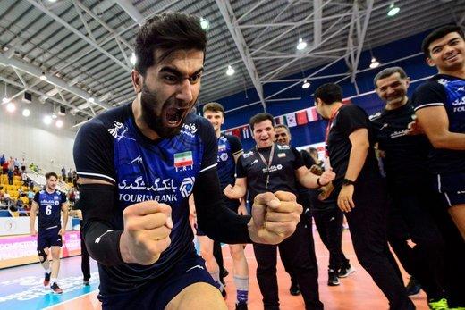 فیلم | گزارش زیبای عربی از لحظه قهرمانی تیم ملی والیبال جوانان ایران