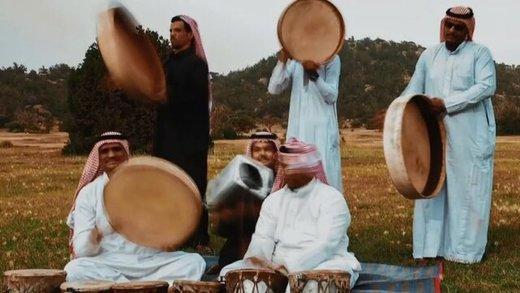 اولین نمایش رقص سنتی زنان در عربستان