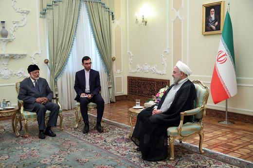 روحانی به بن علوی: انگلیس با توقیف نفتکش ایرانی متضرر شد