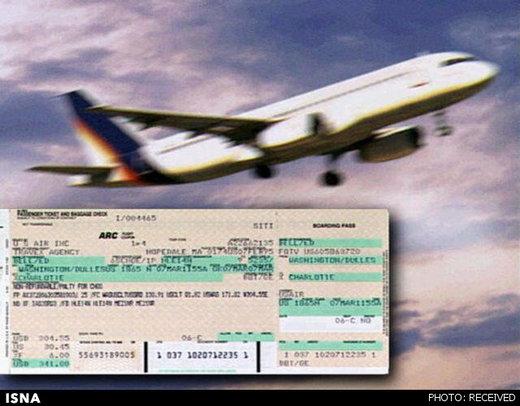 گرانی تا ۸۰۰ هزار تومانی و بیسروصدای بلیت هواپیما