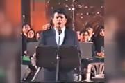 فیلم | اجرای دیدنی شجریان با ارکستر ملی ایران