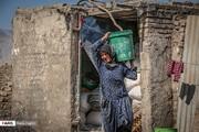 تصاویر | روزگار سخت پیرزن زغالفروش در لرستان