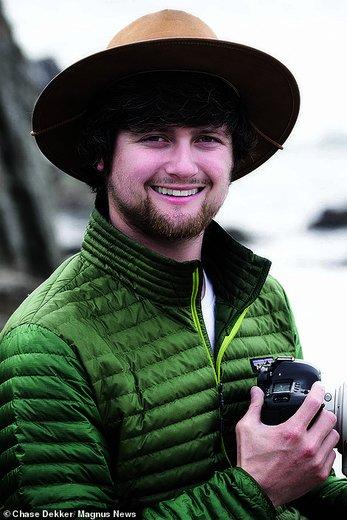 Chase Dekker، عکاس ۲۷ ساله حیاتوحش،