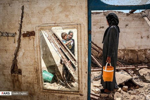 بیبی مروارید در روستای چممهر استان لرستان
