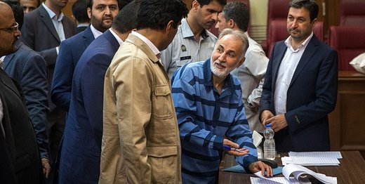 حکم دادگاه برای نجفی در مرحله انشاء است