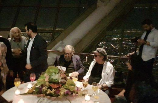 فیلم | جشن تولد مسعود کیمیایی با حضور ویژه داریوش مهرجویی