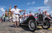 تصاویر | رالی خودروهای کلاسیک در مسکو