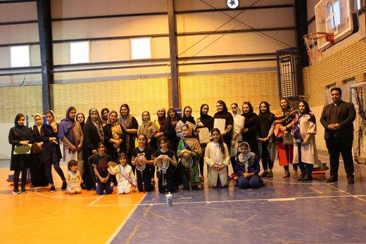 سومین مسابقات آزاد بدمینتون بانوان منطقه آزاد اروند