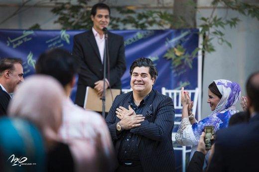 عکس | سالار عقیلی و همسرش در مراسم رونمایی از آلبوم «نگار»