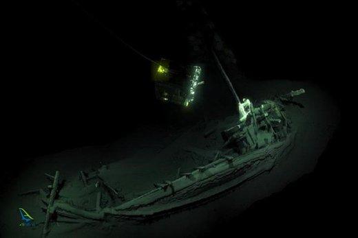 قدیمیترین کشتی غرق شده در ترکیه پیدا شد