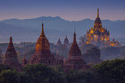 تصاویر | شهر رویایی میانمار با ۳۵۰۰ معبد