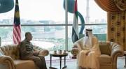 ولیعهد ابوظبی با نخستوزیر مالزی دیدار کرد