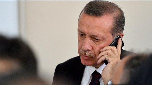 تماس تلفنی اردوغان با شاه عربستان