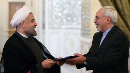 روحانی برای دیدار با ظریف به وزارت خارجه رفت/ روز شلوغ آقای وزیر
