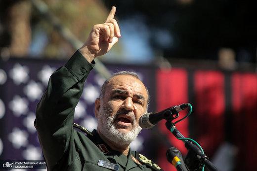 اللواء سلامي: لا يعرف الاعداء قدراتنا الا النزر اليسير