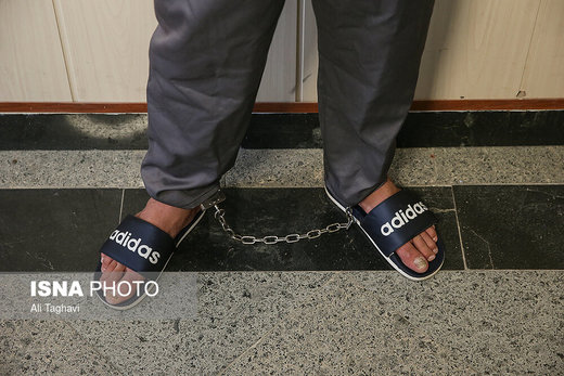 جوان شرور که چشم دونفر را درآورد، بازداشت شد