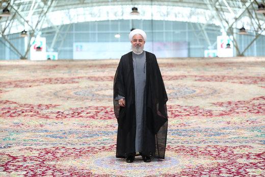 President Rouhani inaugurates Tabriz Int'l Carpet Fair