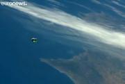 فیلم | عملیات ارسال مواد غذایی برای ایستگاه فضایی بینالمللی