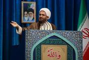 استقبال امام جمعه تهران از گام سوم کاهش تعهدات برجام/کرکس سفید پرهایش ریخته و زیر چشمانش کبود است