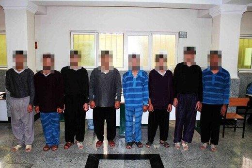 این ۸ دزد به ۲۰ میلیارد تومان سرقت از تهرانیها اعتراف کردند/ عکس