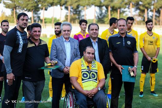 دیدار دوستانه تیم سپاهان و کودکان کار ایران