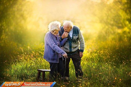 وقتی به پای هم پیر می شویم