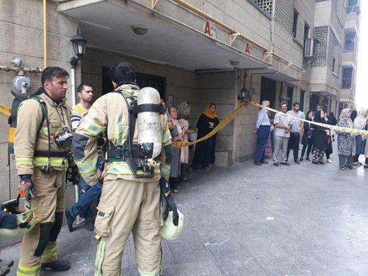 آتشسوزی در بالکن جان یک تن را گرفت