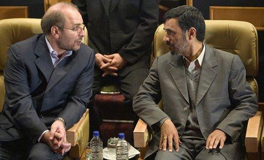 احمدی نژاد لیدر جریان سوم انتخابات مجلس می شود یا قالیباف؟