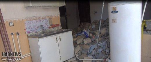 ۸ منزل مسکونی در سنندج منفجر شدند