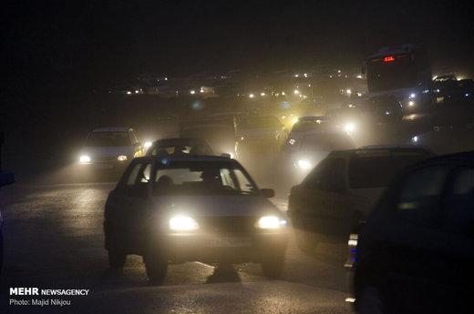 ورودیهای تهران پرترافیک است
