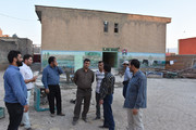بازدید مدیرکل نوسازی استان از نحوه ساخت و تعمیر مدارس در پلدختر