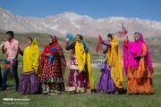 تصاویر | موسیقی و رنگ در عروسی بختیاری