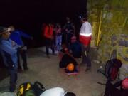 نجات کوهنورد دورودی از اشترانکوه طی شش ساعت تلاش نیروهای امدادی