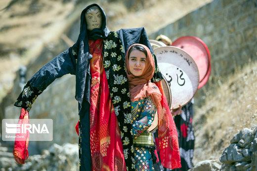 جشن چله تابستان در روستای زردوئی استان کرمانشاه