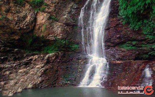 آبشار دودوزن، الماس آبی خرم کش