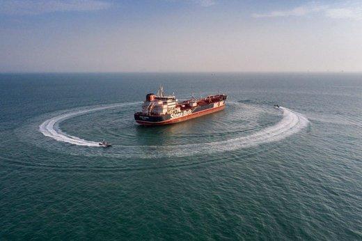 توضیحات سردار زیراهی درباره کشتی توقیف شده حامل سوخت قاچاق توسط سپاه