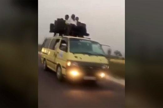 فیلم | عجیبترین و خطرناکترین شیوه مسافر کشی!