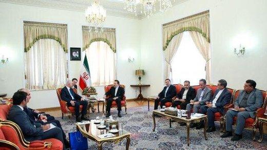 جزییات دیدار معاون روحانی با وزیر اقتصاد جمهوری آذربایجان/ قدردانی واعظی برای نجات خدمه کشتی ایرانی