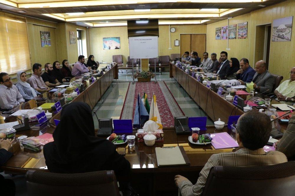 مجمع انتخاباتی هیات ژیمناستیک آذربایجان غربی