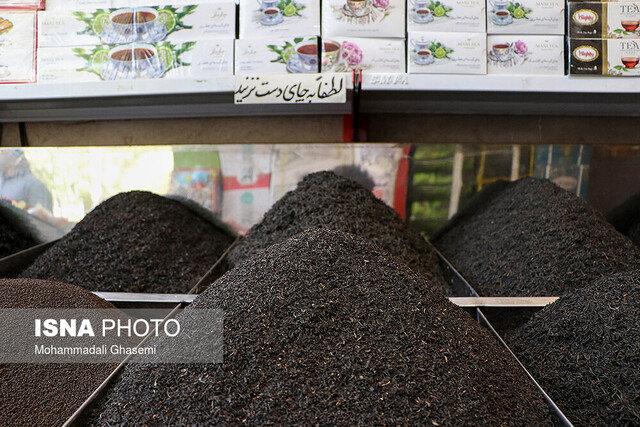 گرانفروشی چای بدون برچسب قیمت