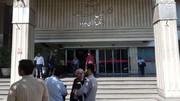 عکس | تخلیه ساختمان وزارت نفت به دلیل آتشسوزی