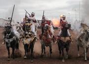 تصاویر | جشنواره اسبسواری در مراکش