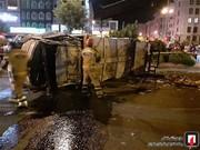 تصاویر | مرگ دلخراش راننده کامیونتکمپرسی در تهران