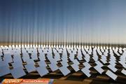تصاویر | نیروگاه خورشیدی خیرهکننده در اسپانیا
