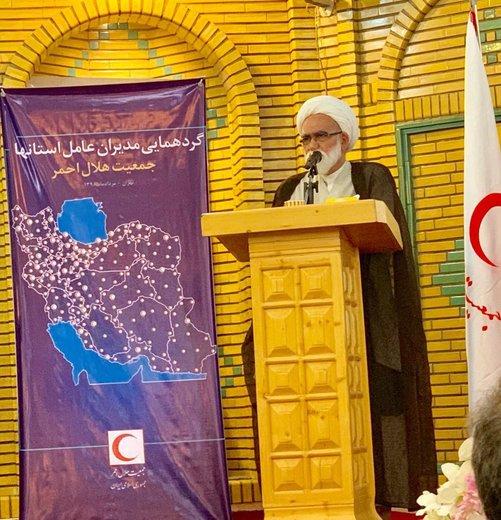 حجتالاسلام معزی: سیاستها و فعالیتهای اقتصادی هلال احمر باید بازنگری شود